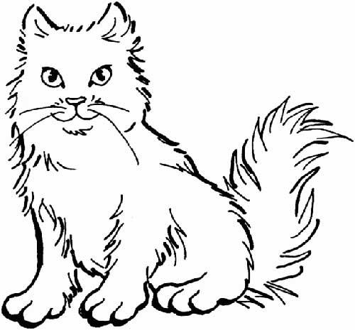 Desenhos-de-Gatos-para-Colorir