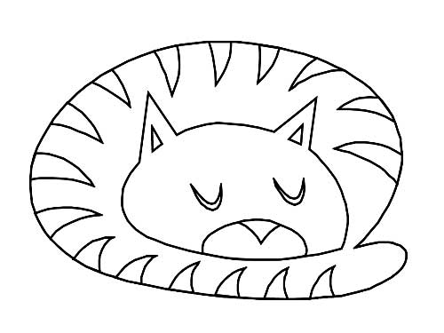 Desenhos-de-Gatos-para-Pintar