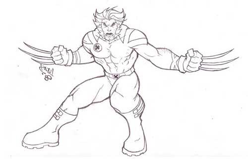 Desenhos-do-Wolverine-2