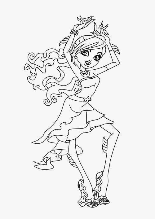 25 Desenhos Legais do Monster High
