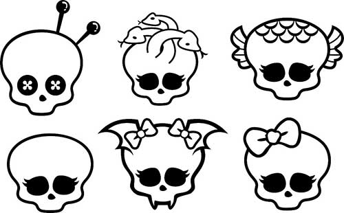25 Desenhos Legais Do Monster High Para Imprimir E Pintar