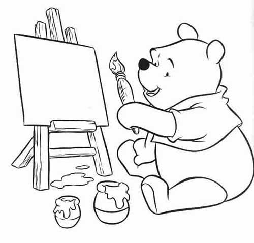 30 Ursinho Puff Pooh Para Imprimir E Colorir Em Casa