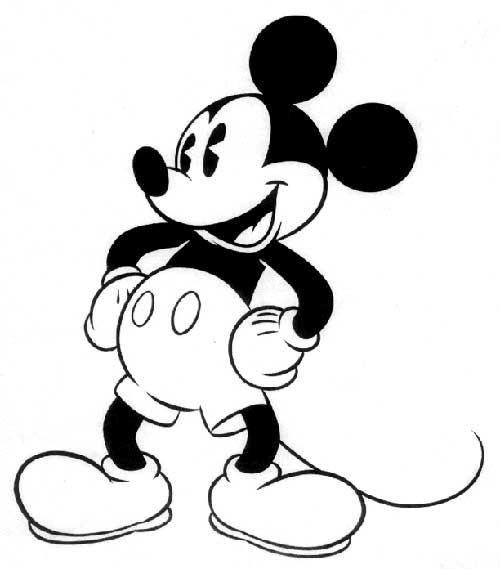 30 Desenhos Do Mickey Mouse Da Disney Para Pintar Em Casa