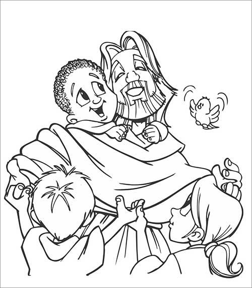 Preferência 30 Desenhos de Jesus para Colorir em Casa (COLORINDO) RC32