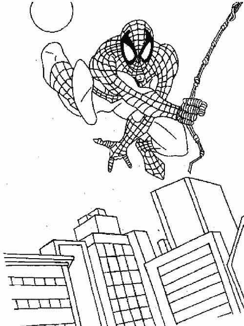 40 Desenhos Do Homem Aranha Para Baixar E Colorir