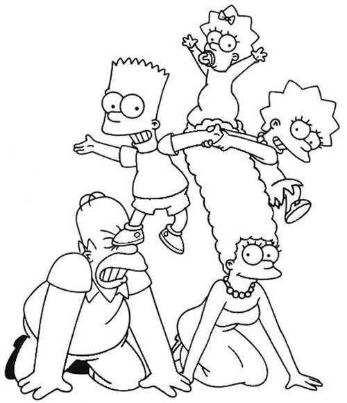 Desenhos-de-Os-Simpsons-2