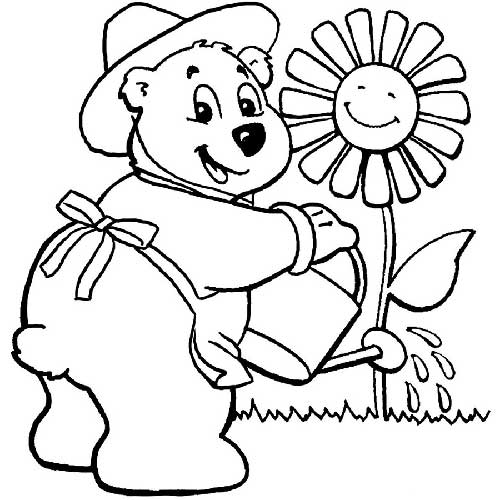 Desenhos De Urso Para Pintar: Ted, Puff, Kung Fu Panda