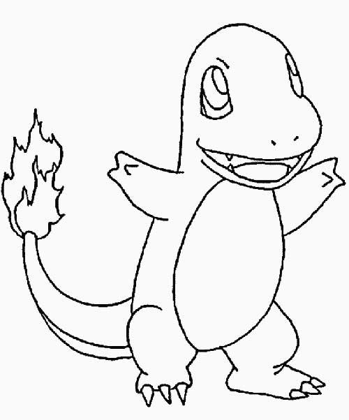 33 Desenhos Do Pokemon Para Colorir Pintar