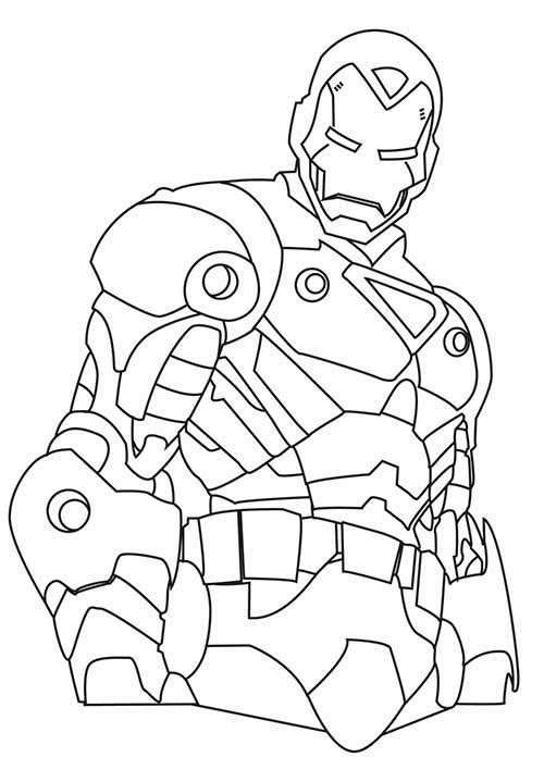 35 Desenhos De Os Vingadores Para Imprimir Colorir Pintar