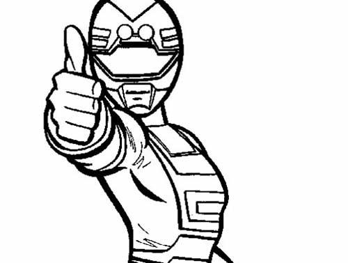35 Desenhos Do Power Rangers Para Imprimir E Colorir