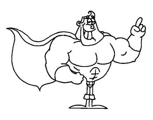 Desenhos-de-Super-Herois-1