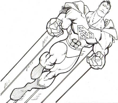 35 desenhos de super herois para colorir em casa