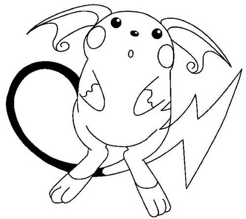 30 Desenhos Do Pokemon Para Colorir Pintar