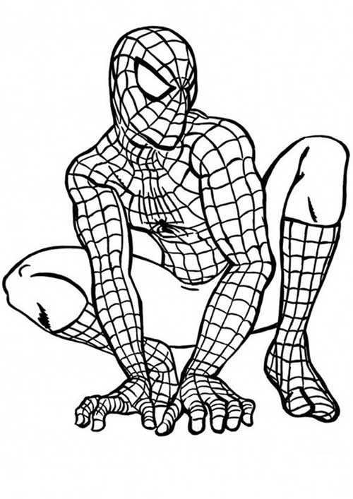 Super Herois on e coloring pages