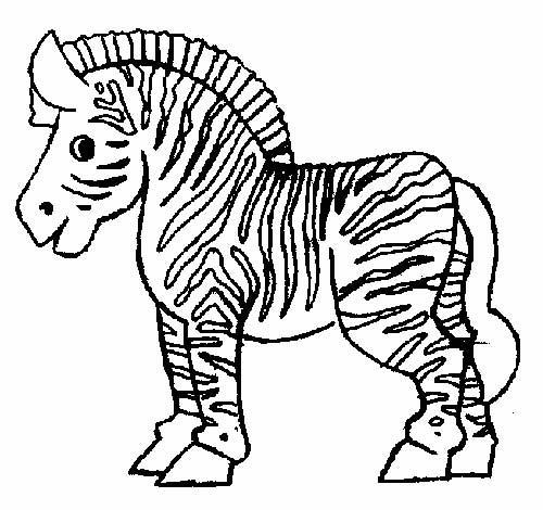 30 desenhos de zebra para pintar - Coloriage zebre a imprimer ...