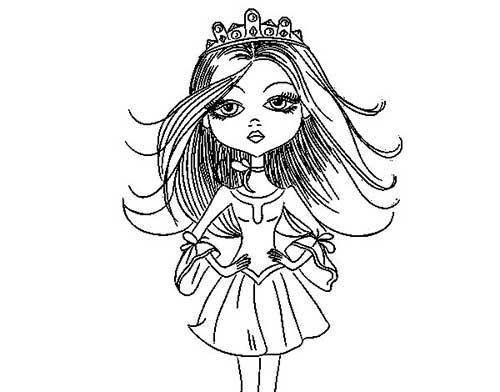 50 Desenhos De Princesas Para Colorir/Pintar