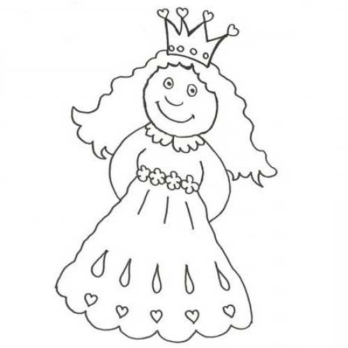 50 Desenhos De Princesas Para Colorir Pintar