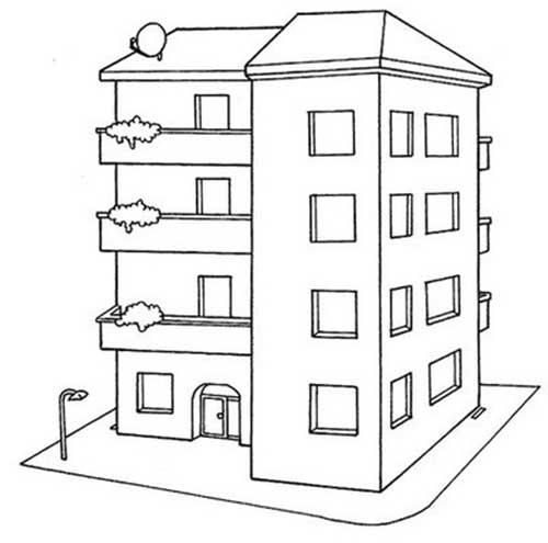 25 Desenhos De Casas Para Baixar E Pintar Colorir