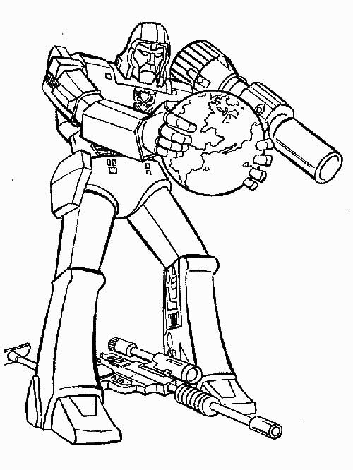 transformers coloring pages decepticons - photo#19