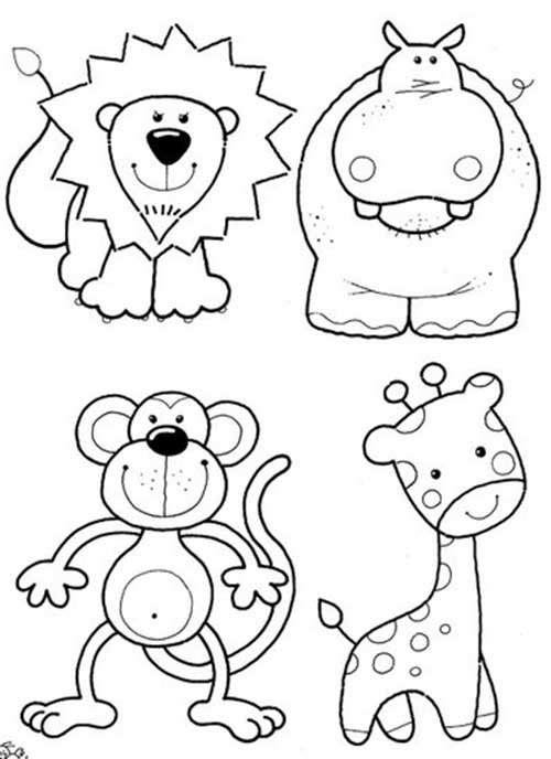 30 Desenhos Lindos E Fofos Para Criancas Colorir