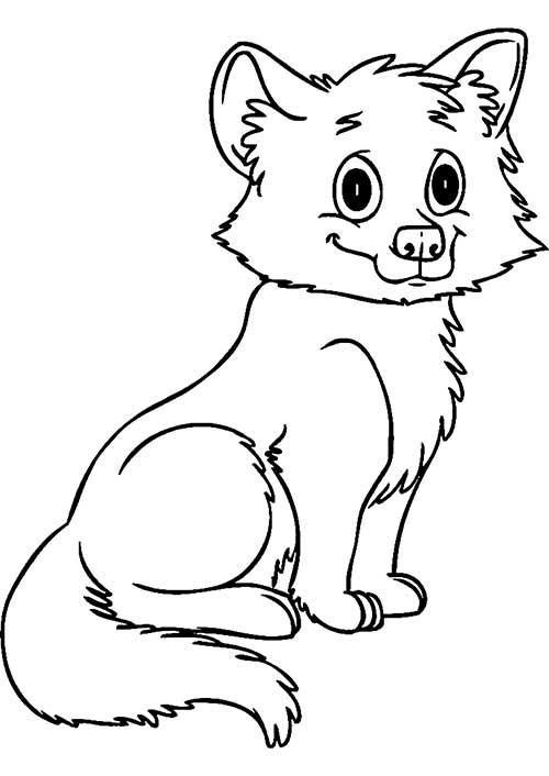 35 Desenhos De Lobos Para Imprimir E Colorir