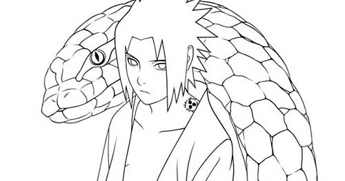 Imagens Para Colorir De Naruto: 35 Desenhos Do Naruto Para Imprimir/Pintar