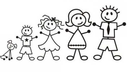 20 Desenhos De Familia Para Pintar Em Casa