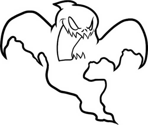 spooky bat coloring pages - photo#48