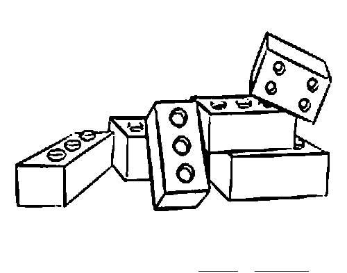 15 Desenhos De Lego Para Pintar E Se Divertir