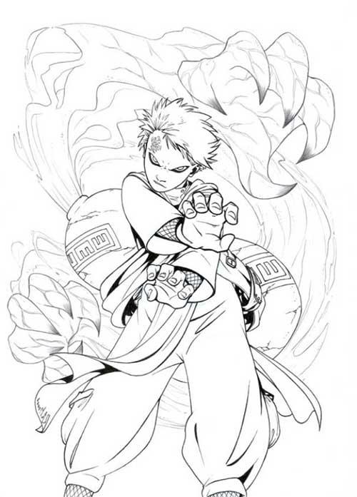 desenhos do kakashi