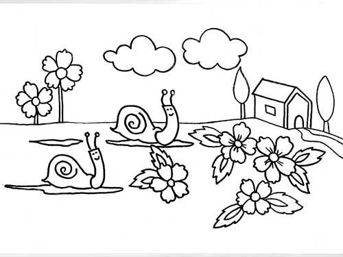 30 Desenhos De Jardim Para Criancas Colorir Gratis