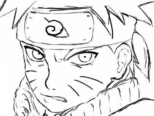 35 Desenhos Do Naruto Para Imprimir/Pintar