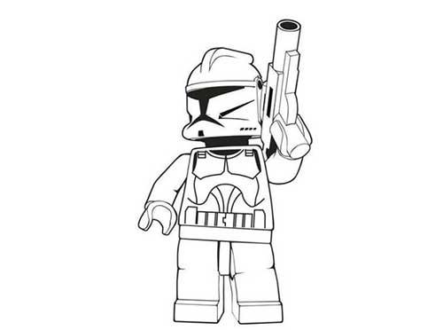 Lego Darth Vader Coloring Pages - Sanfranciscolife