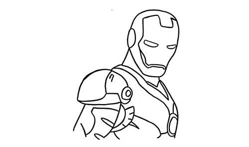 57 Desenhos Do Homem De Ferro Para Pintar Em Casa