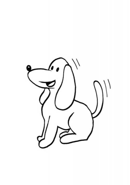 33 Desenhos De Cachorro Para Imprimir E Colorir Gratis