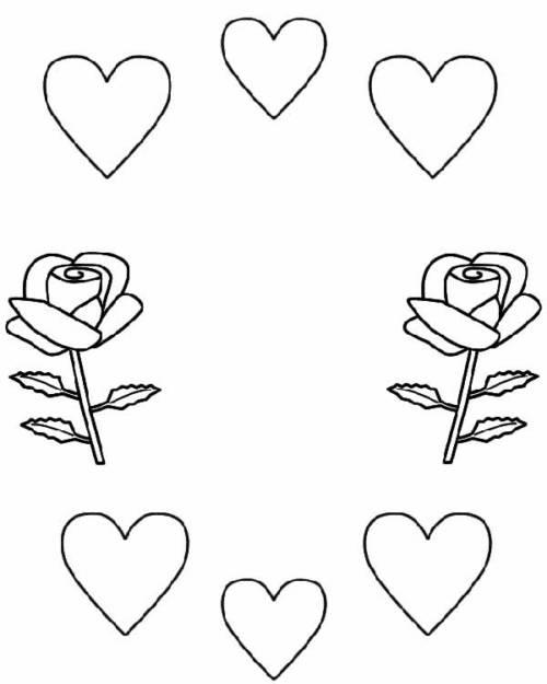 75 Desenhos De Amor Para Imprimir E Pintar Em Casa