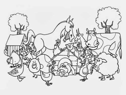 desenhos da fazenda