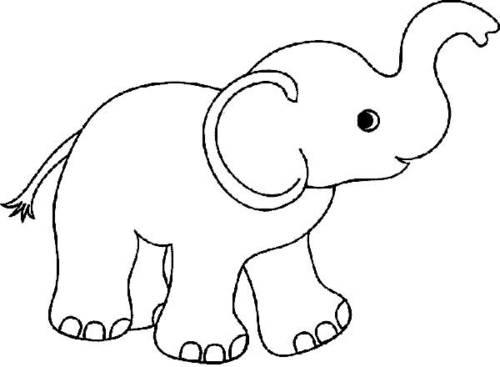 desenhos de elefantes