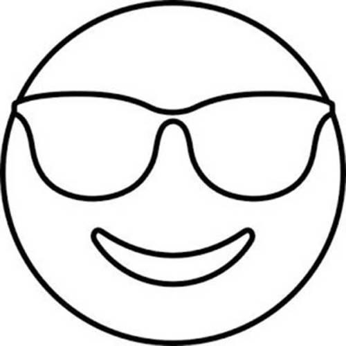 45 Desenhos de Emoji para Pintar