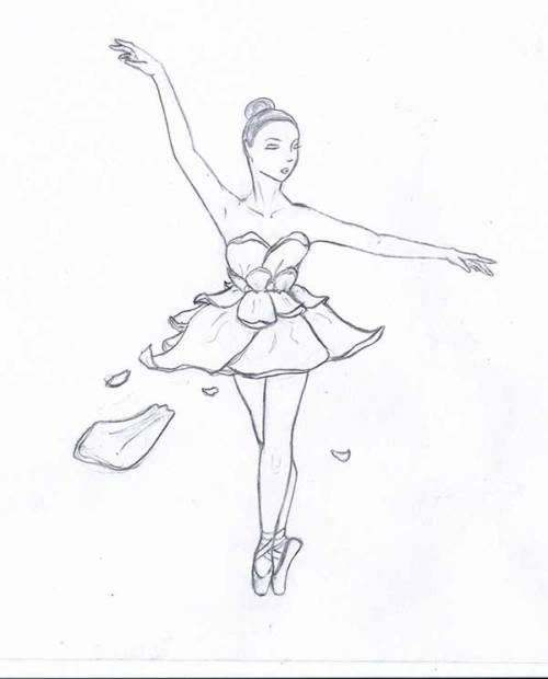 bailarinas para pintar