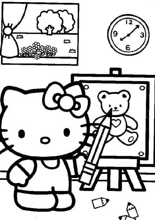 desenhos da hello kitty