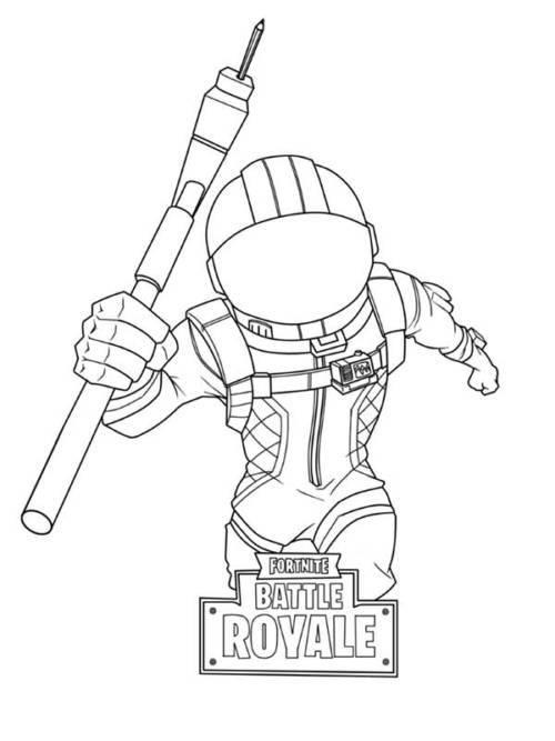 45 Desenhos do Game Fortnite para