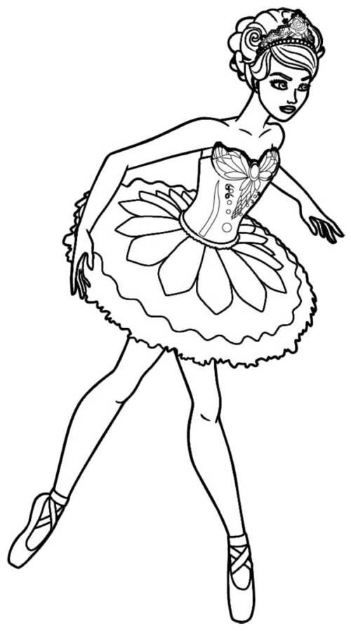 55 Desenhos De Bailarina Fofos Para Pintar Em Casa