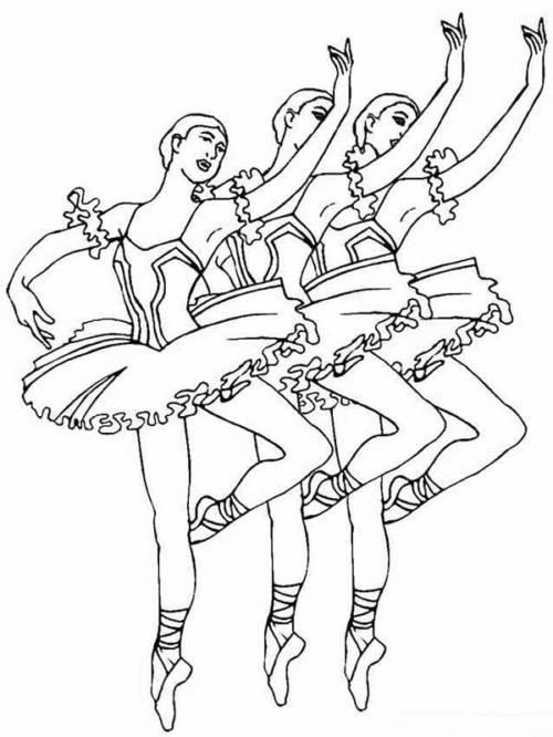 desenhos de bailarinas