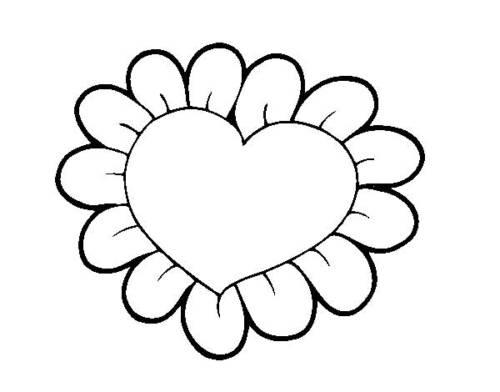 45 Desenhos De Coração Para Colorirpintar E Se Divertir