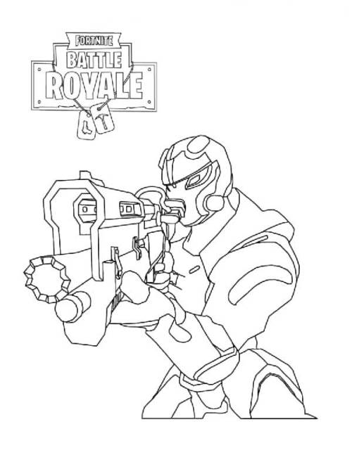 45 desenhos do game fortnite para pintar em casa e se for Fortnite disegni da colorare