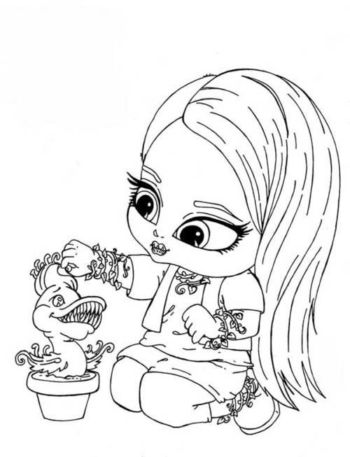 37 Desenhos Da Jolie Para Imprimir E Colorir Em Casa
