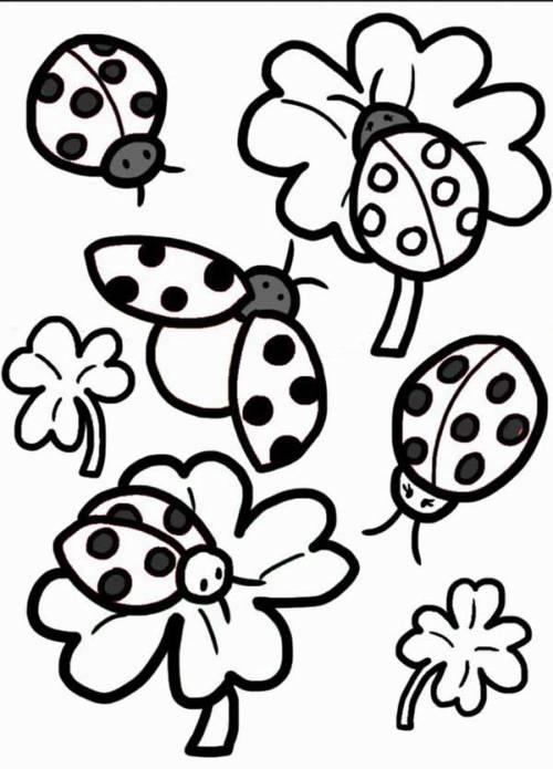 dicas de desenhos de Joaninha