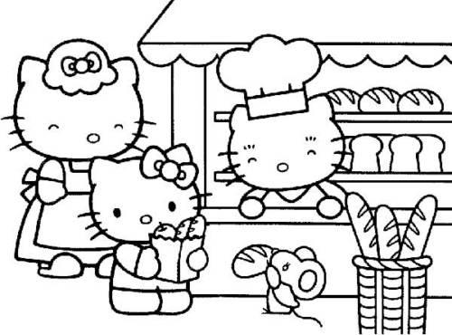 fotos de desenhos da hello kitty