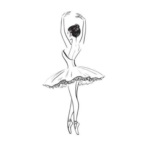dicas de desenhos de bailarinas
